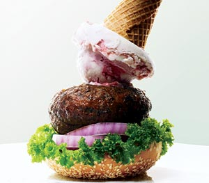X Burger Frozen Yogurt Image