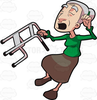 Cartoon Grandma Clipart Image