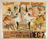 The Famous Rentz Santley Novelty And Burlesque Co. First Time In America : The Sensational Scene, Gay Life In Paris, Introducing Jardine Mabile Dance Image