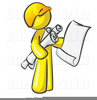 Building Contractor Clipart Image