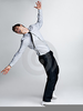 Man Falling Backwards Image