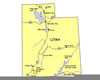 Clipart Of Utah Map Image