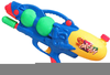 Water Pistol Clipart Image