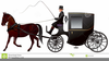 Clipart Of Horse And Cart Image