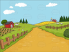 Free Clipart Of Rural Roads Image