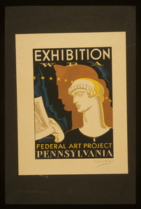 Exhibition Wpa Federal Art Project Pennsylvania / Milhous. Image
