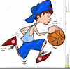 Bouncing A Ball Clipart Image