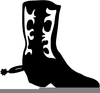 Free Clipart Cowgirl Boots Image
