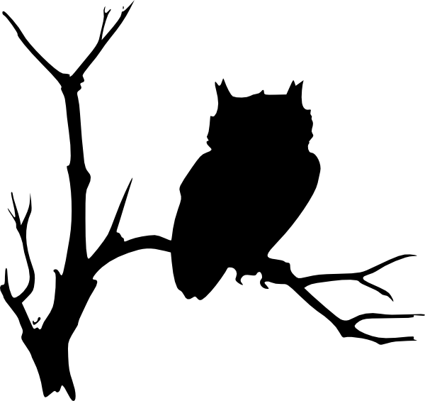 Black Owl Clip Art at ...