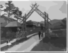 Gateway To Oak Mt. Rserve Resort Hotel In The Adirondack Mts., N.y. Clip Art