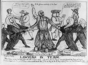 Lawyers In Term  / Designed By Necessity ; Executed By Rapacity. Image