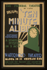 The Federal Theatre Div. Of W.p.a. Presents  Ten Minute Alibi  [by] Anthony Armstrong A Startling Mystery In 3 Acts. Image