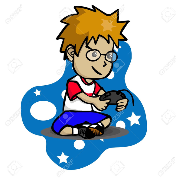Playing Computer Games Clipart   Free Images at Clker.com ...