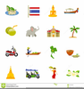 Thai Icons Clipart Image