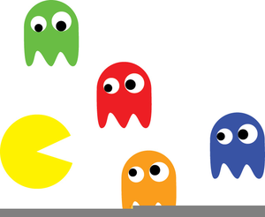 Pacman Game Clipart Free Images At Clker Com Vector Clip