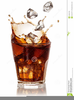 Clipart Glass Of Water With Ice Image