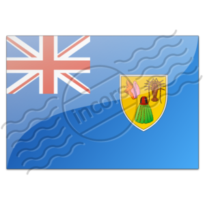 Flag Turks And Caicos Islands Image