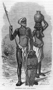 Africans Black And White Image