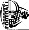 Football Helmet Icons Clipart Image