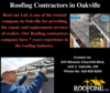 Roofing Contractors In Oakville Image