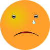 Crying Smiley Clip Art