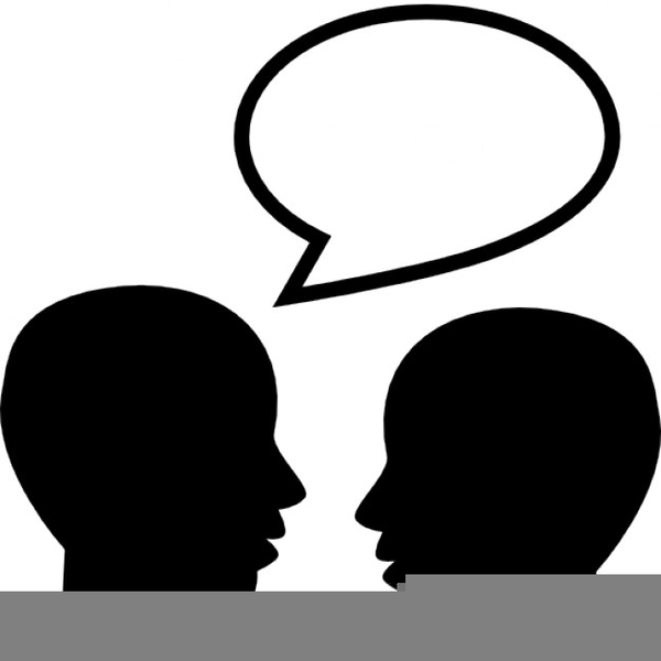 Free Clipart Talking Heads | Free Images at Clker.com ...