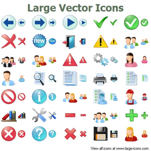 Large Vector Icons Image