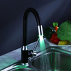 Painting Finish Kitchen Faucet With Color Changing Led Light-- Faucetsuperdeal.com Image