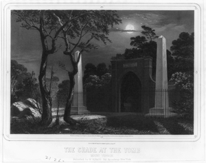 The Shade At The Tomb Image