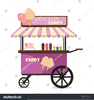 Cotton Candy Clipart Image