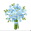 Forget Me Not Flowers Free Clipart Image