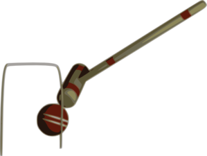 Croquet Hit Ball Clip Art