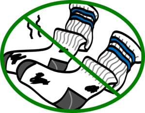 Dirty Socks Clip Art