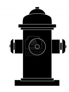 Outline Of Fire Hydrant Image