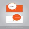 Die Cut Business Card Template 1 Image