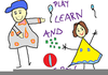 Play Learn And Grow Clipart Image