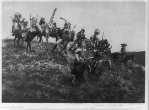 Oglala War Party Image