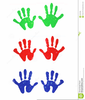 Free Clipart Of Handprints Image