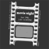Movie Night Ticket Clip Art