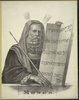 Moses Carrying Tablets Image