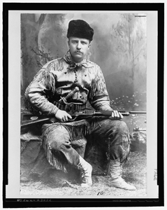 Theodore Roosevelt In 1885 Image