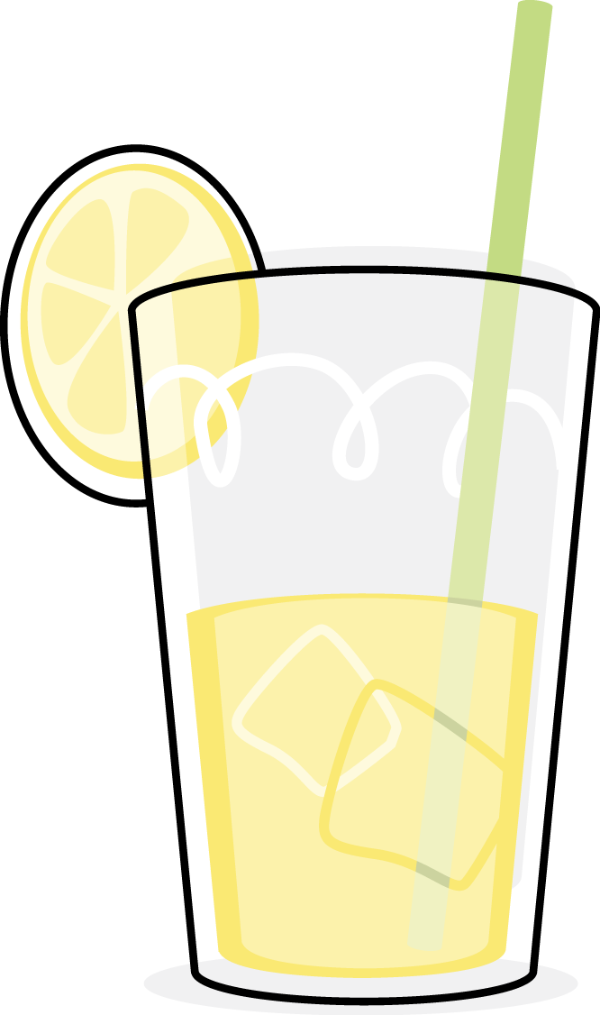 glass of lemonade free images at clkercom vector clip