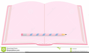 Notebook And Pencil Clipart Free Images At Clkercom Vector Clip