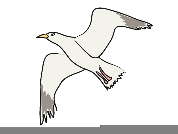 flying seagull clipart free free images at clker com vector clip rh clker com clipart seagull flying seagull clipart silhouette