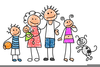 Ffamily Reunion Clipart Image