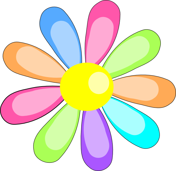 flower clip art at clker com vector clip art online royalty free rh clker com flower clipart images png flower clipart images outline