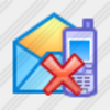Icon Sms Email Delete 1 Image