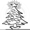 Christmas Clipart Outline Image