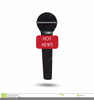 Clipart Radio Microphone Image