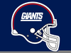 New York Giants Helmet Clipart Image